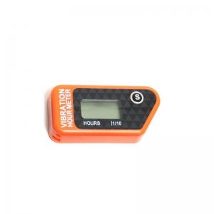 Offroad Vibrations- Servicestundenzähler kabellos, resetbar  Orange