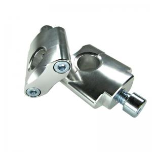 ZAP  Lenkeraufnahme   (28,6MM) 40mm hoch silber