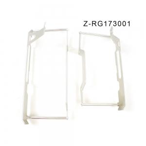 ZAP Kühlerschützer aus Aluminium KXF250 17->