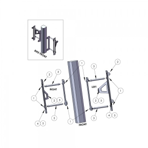 ZAP Kühlerschützer aus Aluminium KXF450 16->