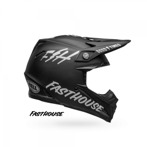 Bell MX Moto9 Helm Mips Fasthouse 19 schwarz/weiß