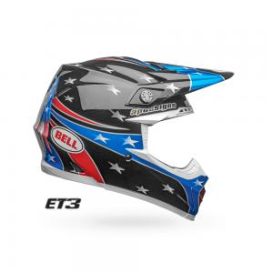 Bell MX Moto9 Helm Mips Tomac Eagle Gloss Blk/Green 19