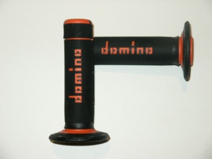 DOMINO Off-Road Griffgummis  schwarz/orange
