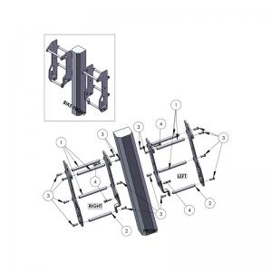 ZAP Kühlerschützer aus Aluminium KTM EXC alle 08-/SX alle 07-