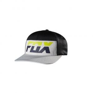 FOX Boys Rize Flexfit Hat Day Glo Green
