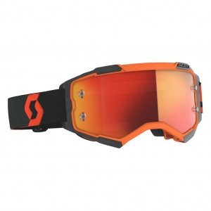 SCOTT Fury MX-Brille  Orange/Black / Orange Chrome Works