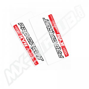 Pro Circuit Gabel-Aufkleber Kayaba