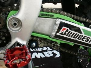 TMD-Schwingenschleifer für KXF250 06-16/450 06-15 grün