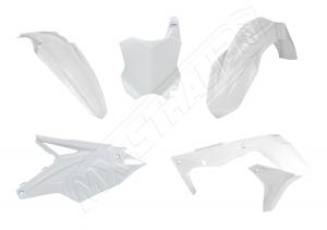 Plastikkit Kawasaki KXF450 16-> Weiß