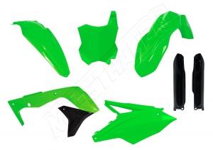 Plastikkit Kawasaki KXF450 16-> Neon Grün
