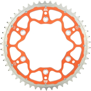 Fusion-Dual Kettenblatt KTM SX(F)/EXC(F) Orange
