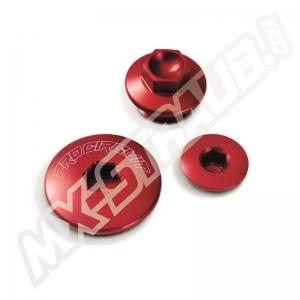Pro Circuit Motordeckel Kit KX250F 11-20 Rot