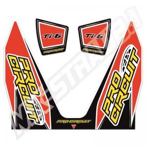 Aufkleberkit für Pro Circuit Ti6R Schalldämpfer