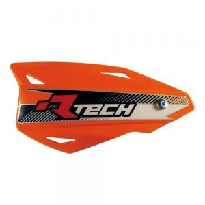 RACE TECH Vertigo Handschalen (2Stück) mit Halterung orange