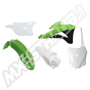 UFO Plastik Kit Kawasaki KX85 14-> OEM