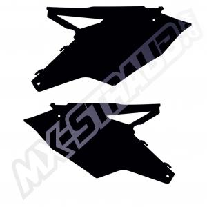 Seitenteile KXF450 2016  schwarz