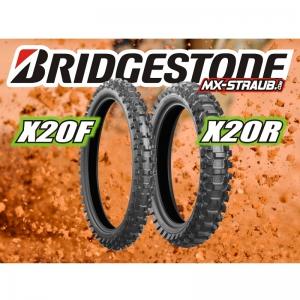 """Bridgestone X20F und X20R Sandboden-Reifen """"Größe wählen"""""""