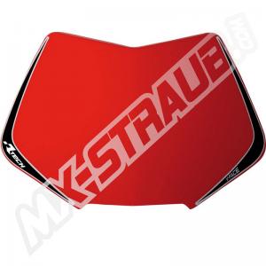 RaceTech Oberteil für V-Face Lampenmaske rot