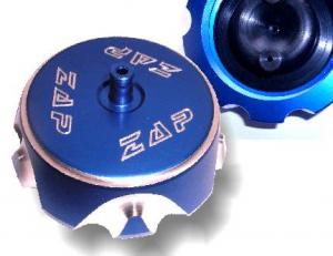 ZAP Aluminium Tankdeckel YZF250/450 03->  Blau