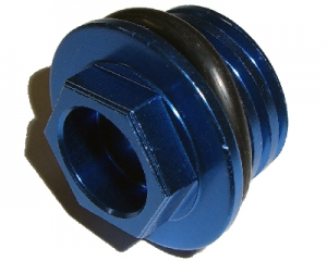 ZAP Öleinfüllschraube KTM 4T blau