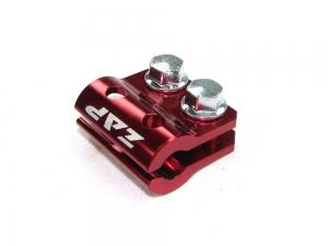 ZAP Halterung für Bremsleitung KX(F), RM(Z) rot