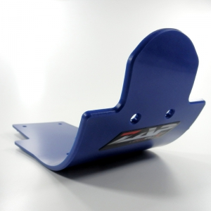 ZAP PE-HD Glide Plate MX KXF 250  09- blau