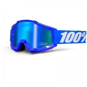 100% MX-Brille Accuri Extra Reflex Blue Mirror Blue