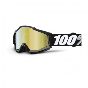 100% MX-Brille Accuri Extra Tornado Mirror Gold