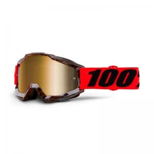 100% MX-Brille Accuri Extra Vendome Mirror Gold