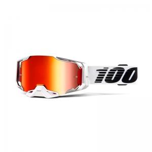 100% Brille Armega Lightsaber / Mirror Red Lens