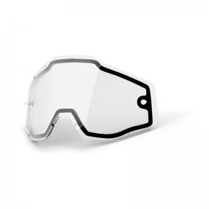 Doppelglas für 100% Racercraft/Accuri/Strata Brille in Klar