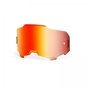 Ersatzglas für Armega MX-Brille  rot gespiegelt