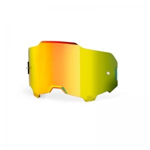 Ersatzglas für Armega MX-Brille  gold gespiegelt
