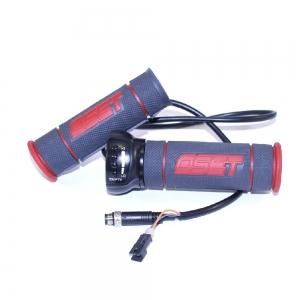 Gasgriff OSET 12,5Racing  24V rot schwarz