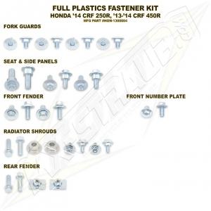 BOLT Schraubenkit für Plastikteile CRF 450 13-16, CRF 250 14-16