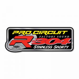 Pro Circuit Sticker für den R-304 Schalldämpfer