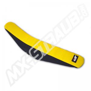 ZAP Factory-Grip Sitzbezug RMZ 450 08- 2-farbig Schwarz/Gelb