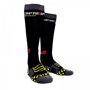 Full Leg Compression Socks schwarz Gr: 43-45