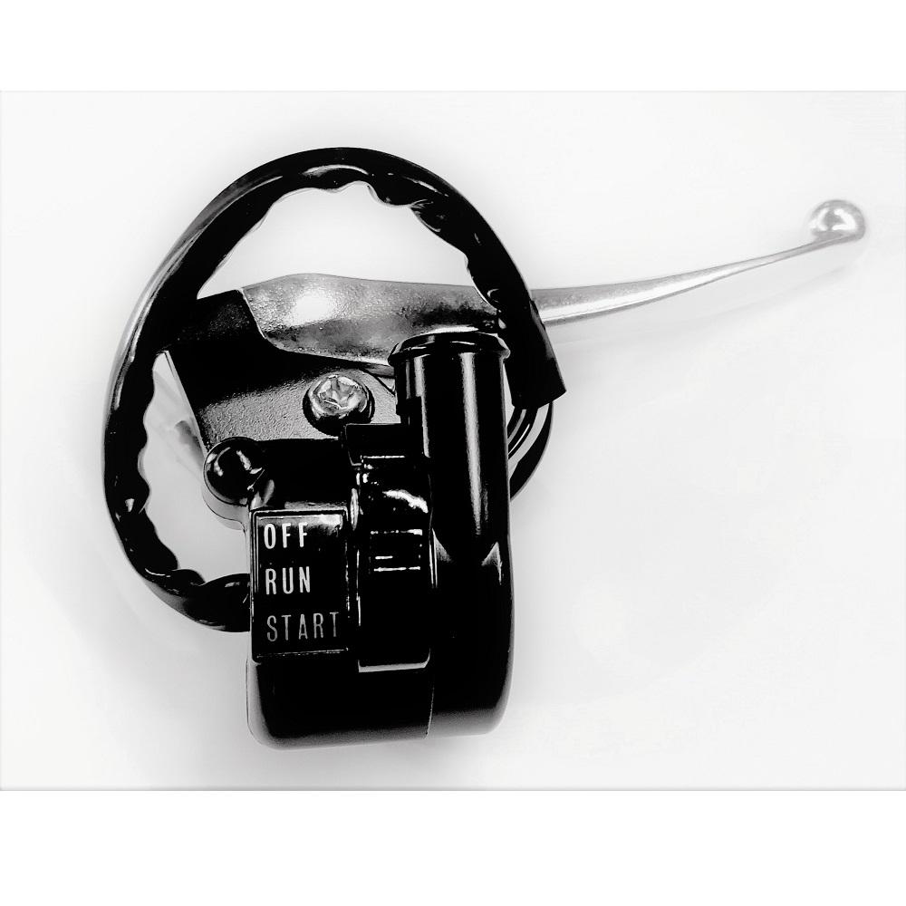 Yamaha PW50  Hebelhalter kompl. mit Elektrik