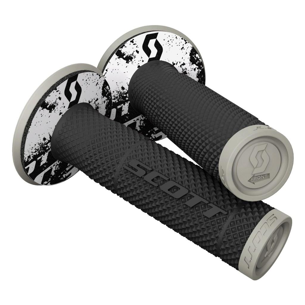 SCOTT SX II MX-Griffe + Donuts schwarz/grau