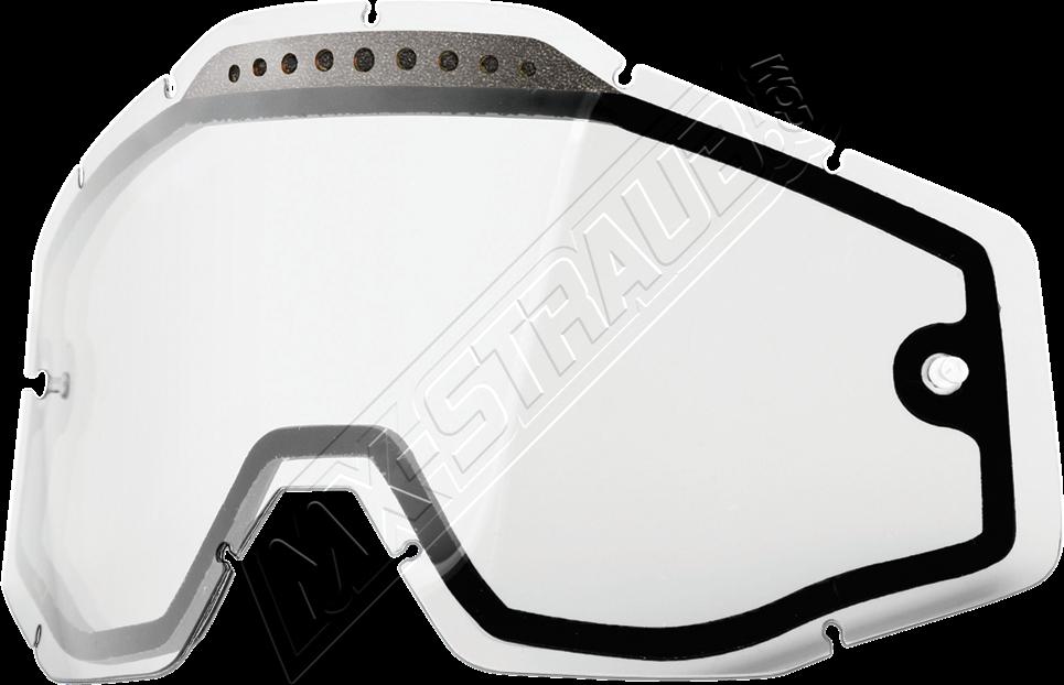 Mx Straub De Doppelglas Fur 100 Racercraft Accuri Strata Brille In Klar