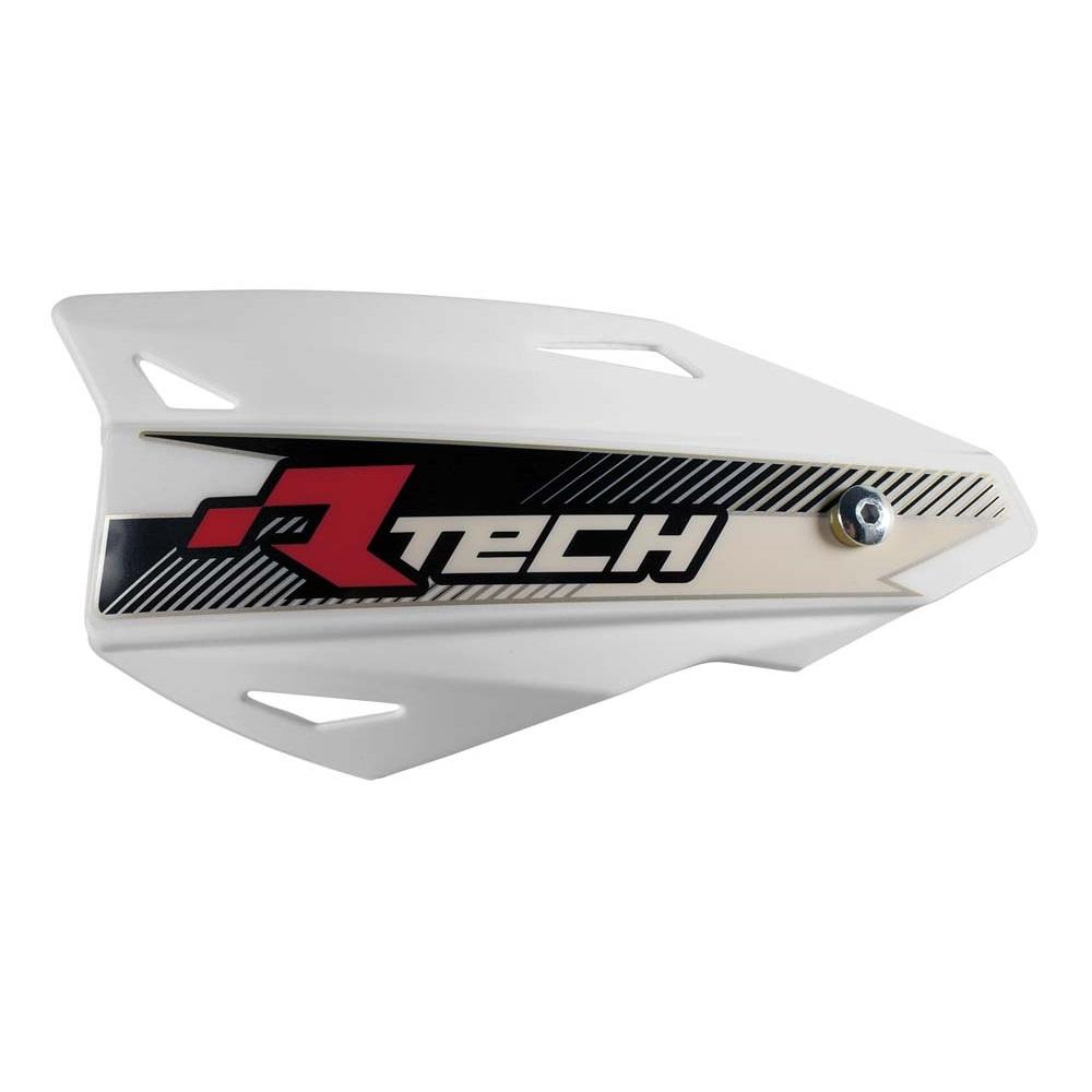 RACE TECH Vertigo Handschalen (2Stück) mit Halterung weiß