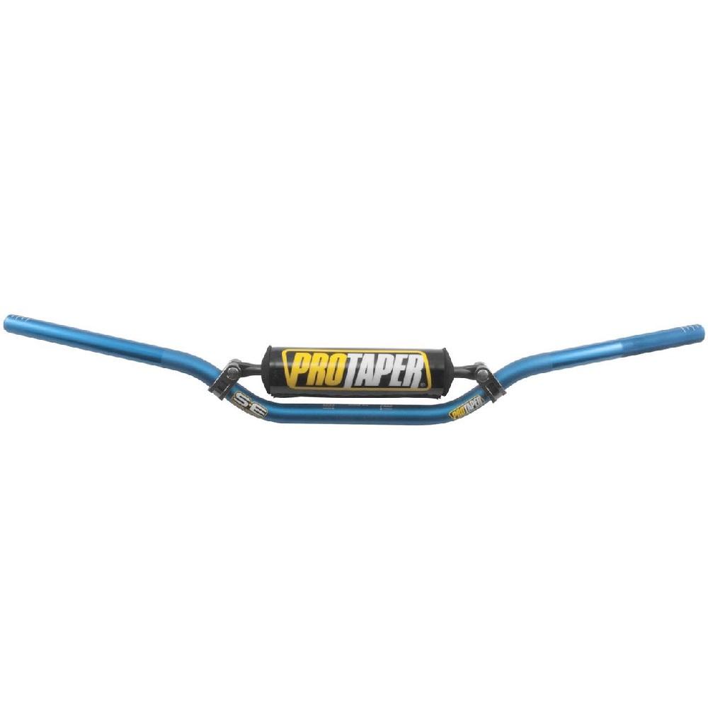 PRO TAPER Ø22mm MX-Lenker  SE SX Race blau incl. Polster