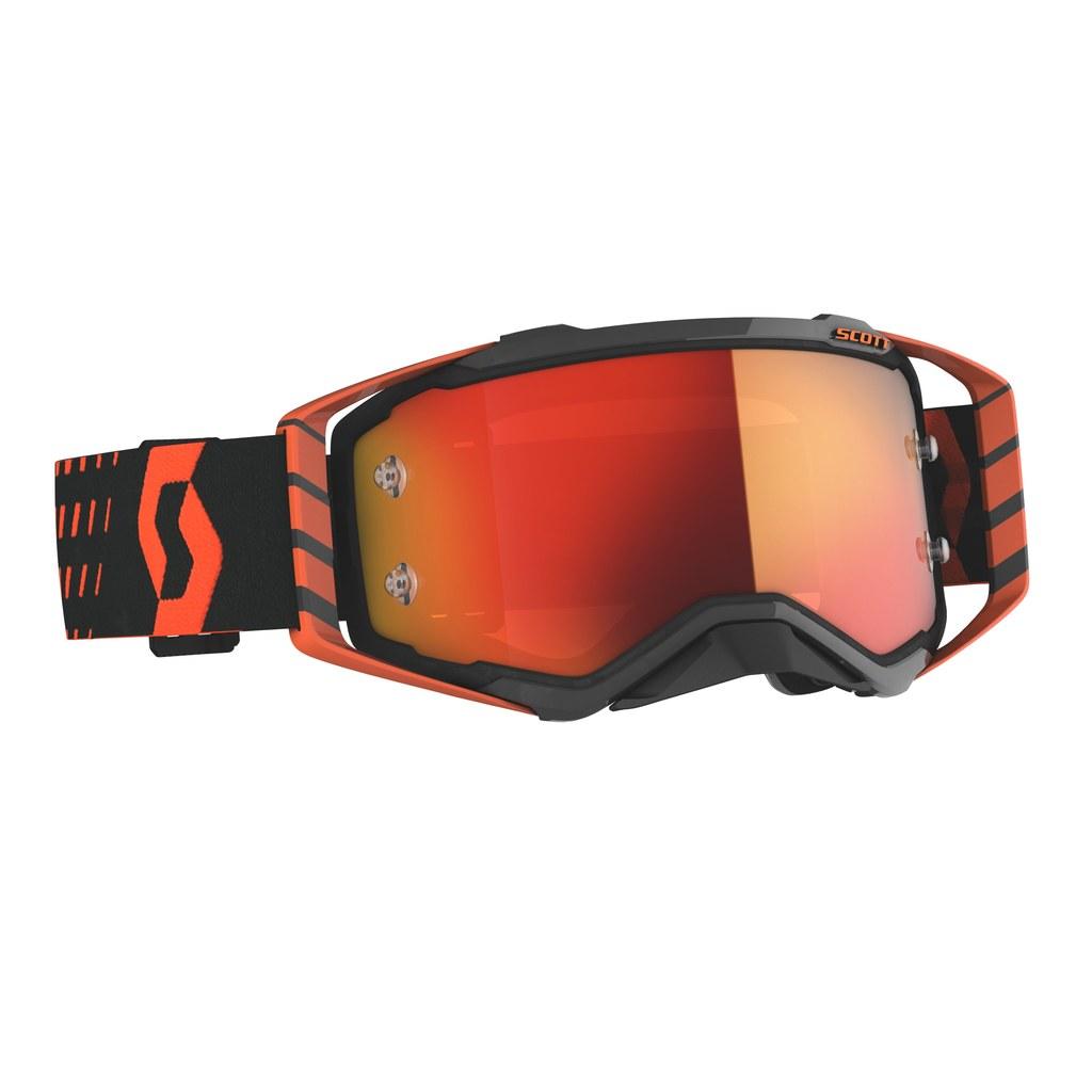 SCOTT Prospect MX Brille Orange/Black / Orange Chrome Works